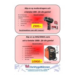Jasic 160A MIG/MMA -3000:-...