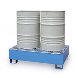 Miljöpall stål 2-fat