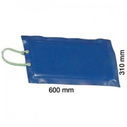 Montörsmatta blå 310x600